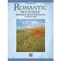MIER M. ROMANTIC SKETCHES PIANO BOOK 2