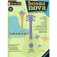 JAZZ PLAY-ALONG VOL 40 BOSSA NOVA  C, Eb, Bb, C BASS