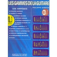 GANTER P. LES GAMMES DE LA GUITARE VOL 3