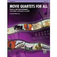 STORY M. MOVIE QUARTETS FOR ALL FLUTES