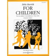 BARTOK B. FOR CHILDREN VO 1 PIANO