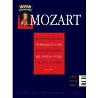 MOZART W.A. SONATINES VIENNOISES K 439B PIANO