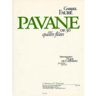 FAURE G. PAVANE OP 50 4 FLUTES