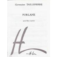 TAILLEFERRE G. FORLANE FLUTE