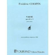 CHOPIN F. VALSE OP 69 N°1 PIANO