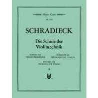 SCHRADIECK H. ECOLE DE LA TECHNIQUE VOL 2 VIOLON