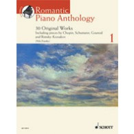 ROMANTIC PIANO ANTHOLOGY VOL 1