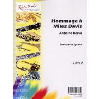 HERVE A. HOMMAGE A MILES DAVIS TROMPETTE