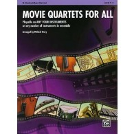 MOVIE QUARTETS FOR ALL CLARINETTES
