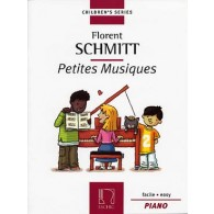 SCHMITT F. PETITES MUSIQUES OP 32 PIANO