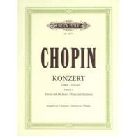 CHOPIN F. CONCERTO N°1 OP 11 2 PIANOS