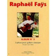 FAYS R. ALBUM N°3 GUITARE