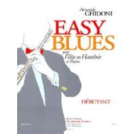GHIDONI A. EASY BLUES HAUTBOIS OU FLUTE