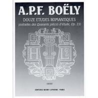 BOELY A.P. ETUDES ROMANTIQUES PIANO