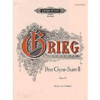 GRIEG E. PEER GYNT SUITE N°2 OP 55 PIANO