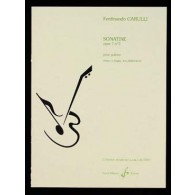 CARULLI F. SONATINE OP 7 N°3 GUITARE