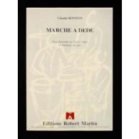 BONZON C. MARCHE A DEDE ENSEMBLE DE CAISSE CLAIRE OU TAMBOUR
