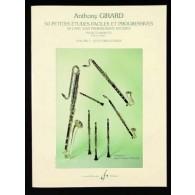 GIRARD A. PETITES ETUDES PROGRESSIVES VOL 1 CLARINETTE