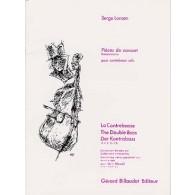 LANCEN S. PIECES DE CONCERT CONTREBASSE SOLO