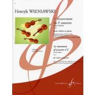 WIENIAWSKI H. 2ME CONCERTO 1ER MOUVEMENT VIOLON