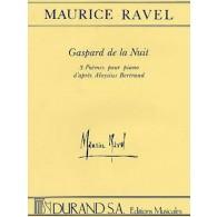 RAVEL M. GASPARD DE NUIT PIANO