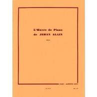 ALAIN J. OEUVRE DE PIANO TOME 2