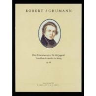 SCHUMANN R. SONATES POUR LA JEUNESSE PIANO