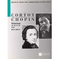 CHOPIN F. SCHERZOS PIANO