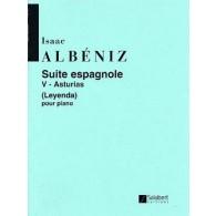 ALBENIZ I. SUITE ESPAGNOLE N°5 PIANO