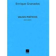 GRANADOS E. VALSES POETICOS PIANO