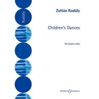 KODALY Z. CHILDREN'S DANCES PIANO