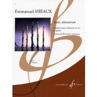 HIEAUX E. SUITE AMOUREUSE CLARINETTE