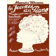 TANSMAN A. LES JEUNES AU PIANO RECUEIL 4 PIANO