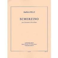 FELD J. SCHERZINO CLARINETTE SIB