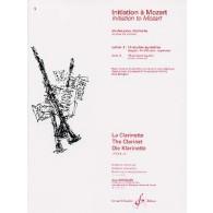 MOZART W.A. INITIATION VOL 3 CLARINETTE