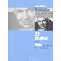 DAMASE J.M. 25 ETUDES FLUTE