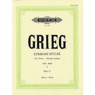 GRIEG E. PIECES LYRIQUES VOL 1 PIANO