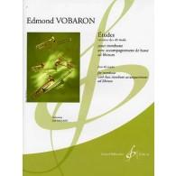 VOBARON E. ETUDES TROMBONE