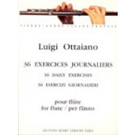 OTTAIANO L. 36 EXERCICES JOURNALIERS FLUTE