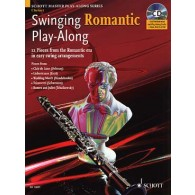 SWINGING ROMANTIC PLAY ALONG CLARINETTE