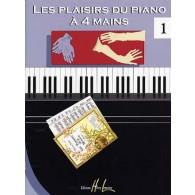 LES PLAISIRS DU PIANO A 4 MAINS VOL 1