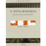 AIRAULT V. 15 PETITES RECREATIONS GUITARE
