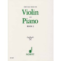 FIRST SOLO PIECES FOR VIOLIN BOOK 2