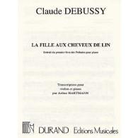 DEBUSSY C. LA FILLE AUX CHEVEUX DE LIN VIOLON