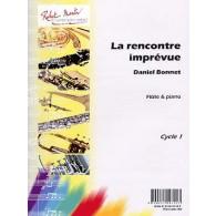 BONNET D. LA RENCONTRE IMPREVUE FLUTE