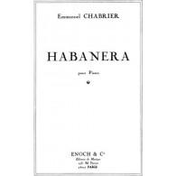 CHABRIER E. HABANERA PIANO