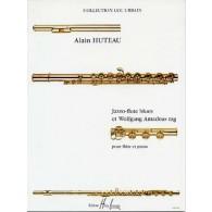 HUTEAU A. JAZZO-FLUTE WOLFGANG AMADEUS RAG FLUTE