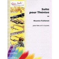 FAILLENOT M. SUITE POUR THERESE FLUTE