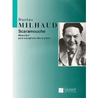 MILHAUD D. SCARAMOUCHE SAXOPHONE ALTO