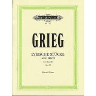 GRIEG E. PIECES LYRIQUES VOL 3 OP 43 PIANO